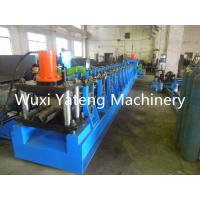 Wholesale Gcr15 Roller Material Guard Rail Roll Forming Machine With Gearbox Driving System from china suppliers