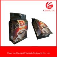 Wholesale 408 G Square Bottom Coffee Packaging Bags With Light -Proof Resistance from china suppliers