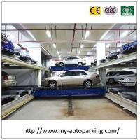 Wholesale Five Level PLC Control Automated Conveyor Robtic Cart Garage Car Stacking System from china suppliers