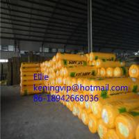 Quality Heat insulation glass wool with Aluminium foil/glass wool roll for sale