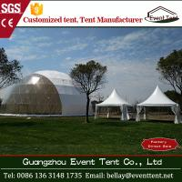 Buy cheap 30m diameter white large wedding marquee tent with hot dip galvanize steel pipe from wholesalers