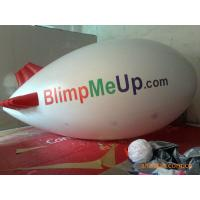 Wholesale 0.18mm PVC Tarpaulin Inflatable Advertising Balloons Tethered Blimp Airship from china suppliers