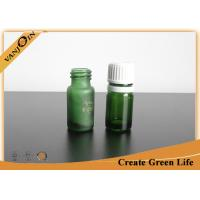 Wholesale Mini Essential Oil Green Glass Vials and Bottles With Orifice And Cap 5ml or Custom Size from china suppliers