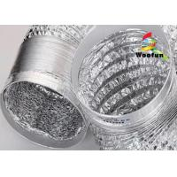 Wholesale HVAC different length available -20°C~120°C aluminum foil flexible ducting from china suppliers