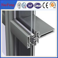 Wholesale Hot! aluminium wood grain profile, aluminum construction profile, aluminum wall profiles from china suppliers