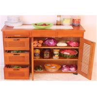 Wholesale Large Space Indoor Storage Cabinets Kitchen Cabinet Table Customized Size from china suppliers