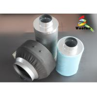 Wholesale Cartridge Carbon Air Filters , Aluminum Flange Grow Room Carbon Filter from china suppliers