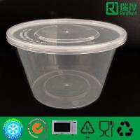 Buy cheap 1000ml PP for Plastic Round Storage Container from wholesalers