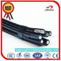 Wholesale Middle Voltage Aluminium Overhead Power Cables Four Core Wire 4 * 95 Size from china suppliers