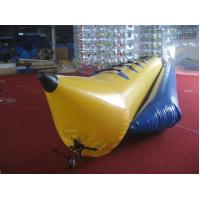 Wholesale Ocean Rider Inflatable Banana Boat , Inflatable PVC Boat Water Sled for Single Tube from china suppliers