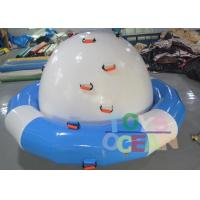 Quality DIA 3M Inflatable Floating Water Spinner Towable Water Sports Saturn For Adults for sale