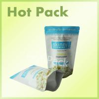 Quality Ziplock Laminated Popcorn Original Sea Salt Skinny Vitamins Stand Up Bags for sale