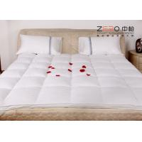 Buy cheap Stain Resistant Hotel Mattress Topper Single / Double Size Available ZB-MT-10 from wholesalers