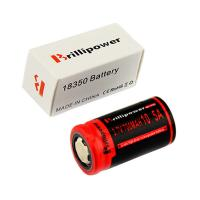 Wholesale Brillipower Black IMR 18350 700 mAh 3.7V LI-MN Rechargeable Battery , BUTTON Top ,10.5A from china suppliers