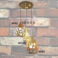Wholesale New Hot Sale Indoor Home Coffe Shop Vintage Decorative iron pendant lamp 3 lampholders from china suppliers