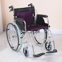 Wholesale Adjustable Lightweight Aluminum Wheelchair , Multi Color Easy to Carry from china suppliers