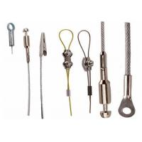 Wholesale Stainless Clamp Clips 1.5mm Steel Cable Assembly With Assemblies from china suppliers