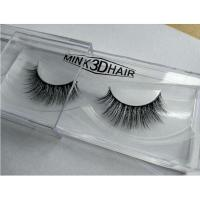 Buy cheap Wholesale private label own brand 3d real Mink Lashes 3D from wholesalers