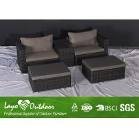 Wholesale Outdoor Balcony Patio Seating Sets Double Rattan Sofa Commercial Patio Furniture from china suppliers