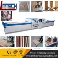 Wholesale PVC veneer wood vacuum membrane press machine for door making from china suppliers