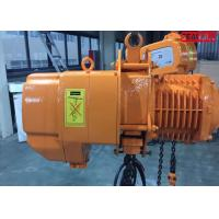 Wholesale Fast speed Heavy Duty Electric Chain Hoist cap 10 ton SGW 3 phase 60hz from china suppliers