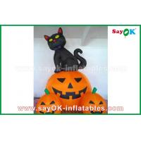 Wholesale Inflatable Holiday Decorations , Pumpkin Inflatable Cartoon Characters For Halloween from china suppliers