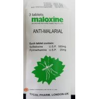 Quality B.P Standard Sulfadoxine And Pyrimethamine Tablets ,  Maloxine Containing Antimalarial Tablets for sale
