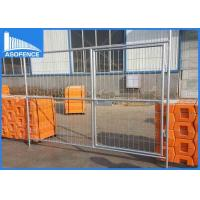 Wholesale 3.2 Mm Wire Australia Temporary Privacy Fence , Safety Metal Fencing Panels from china suppliers