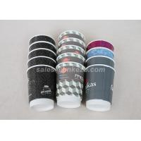 Quality Printed 22oz Double Wall Disposable Paper Cups With Lids For Hot Coffee Drinking for sale