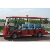 Quality City Tourist Electric Sightseeing Bus Shuttle Car With 14 Seats For Reception for sale