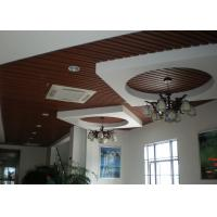 Wholesale Recyclable decorative wood plastic composite ceiling Tile / wall panel from china suppliers