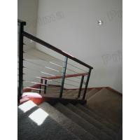 Buy cheap Rope balustrade wood handrail for staircase from wholesalers
