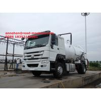 Wholesale Sanitation Enterprise Liquid Waste Truck 8-12CBM LHD 4X2 Sinotruk HOWO from china suppliers