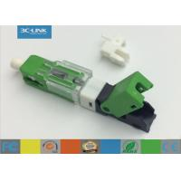 Wholesale SC APC manual Low Loss Pre Polished Field Installable Connector For Premise Environments from china suppliers