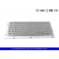 Wholesale 86 Keys Industrial Mini Keyboard IP65 Dust-Proof With PS/2 Or USB Interface from china suppliers