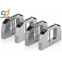 Buy cheap CE Approved Swing Barrier Gate Identification Card Turnstile System Speed Lane from wholesalers