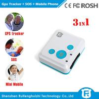 Wholesale Personal child anti kidnapping gps tracker for kids elderly big sos button reachfar rf-v16 from china suppliers