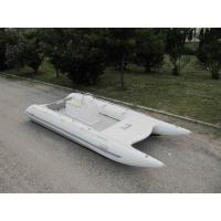 Wholesale High Racing Catamaran Work Boat 5m 8 Person Fishing Boat With Jockey Console from china suppliers