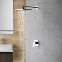 Wholesale Wall Mount Contemporary Rain Shower Faucet, FL-1704-02 from china suppliers