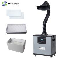 Wholesale Single duct digital display soldering fume extractor with brushless motor  Power 80W from china suppliers