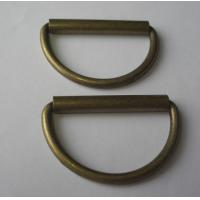 Wholesale Antique Brass Plating D Ring Zinc Alloy Roller Buckle from china suppliers