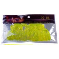 Wholesale Health Soft Plastic Bait Bags , Fishing Hook Packaging Foil Zipper Bags from china suppliers
