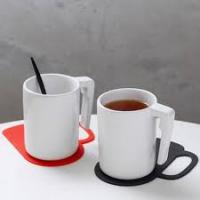 Wholesale Heart shape coaster cup placemats set from china suppliers