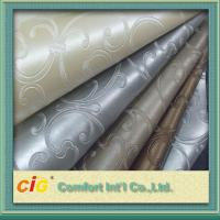 Wholesale Classic Woven Knitted Backing PVC Artificial Leather For Upholstery from china suppliers