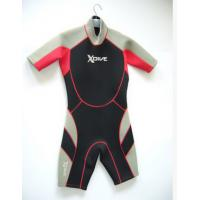 Environment Kids Shorty Wetsuit With Neoprene Material For Swimming