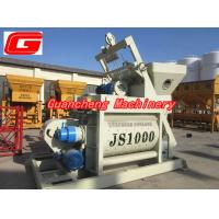Wholesale JS series Compulsory Concrete Mixer double axis 1000 liter concrete mixer from china suppliers