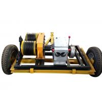 China Gas Engine Powered Winch with trailer can match Honda / Yamaha gasoline engine on sale