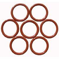 Wholesale Red Rubber Viton O-ring Approved AS568 And Non-Standard Sizes Silicone O-Rings For Oil Seals / Water Seals from china suppliers