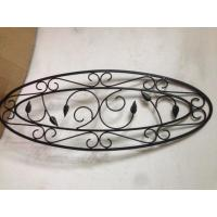 Wholesale Round / Square Steel Wrought Iron Glass Tempered Durable Antiseptic from china suppliers