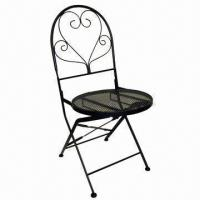 Wholesale Patio Foldable Chair, Made of Iron Bar  from china suppliers